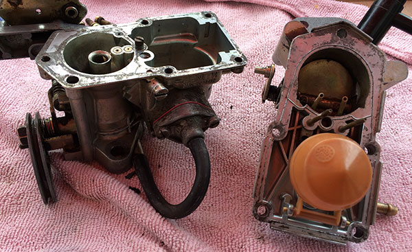 Renault 4 Carbureta Refurbishment