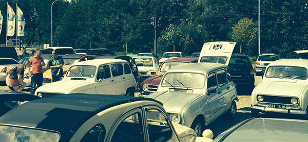 Visit to the Renault 4 in Freiburg