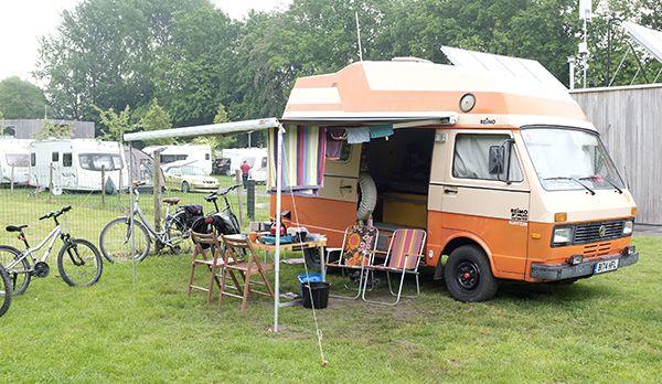 VW Camper in Brugge