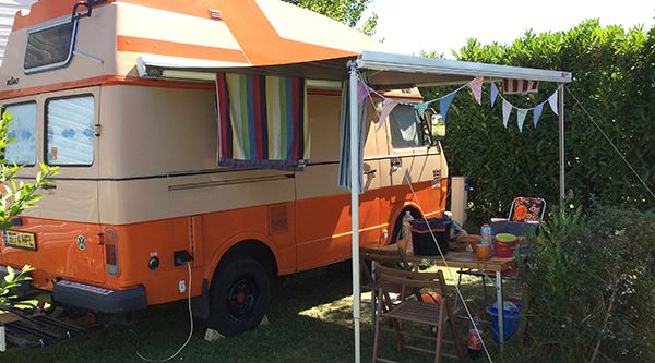 VW Camping In Cancale