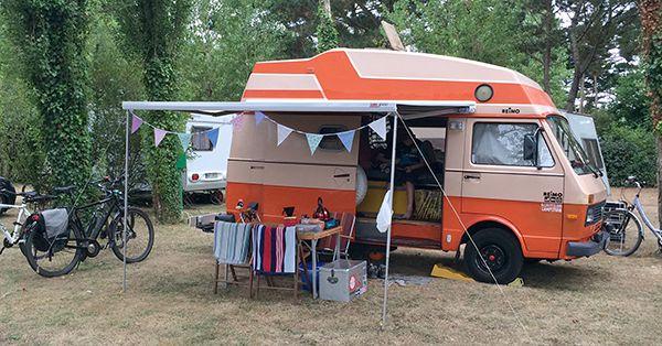 VW Camping in Morbihan