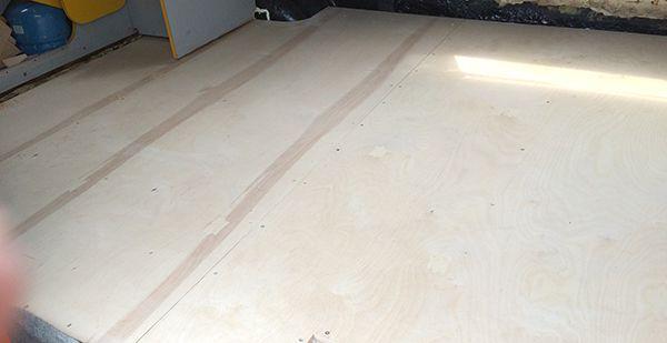 VW LT New Ply Floor