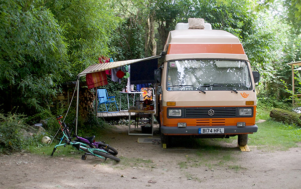 VW LT Camper In Frieburg