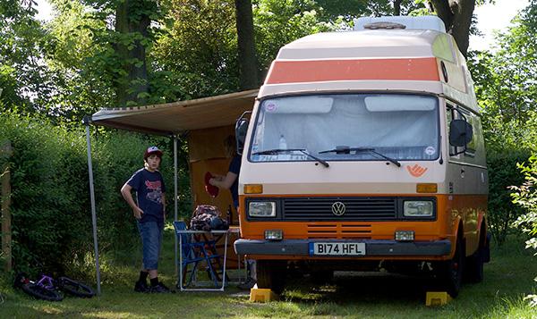 VW LT Camper In Paris
