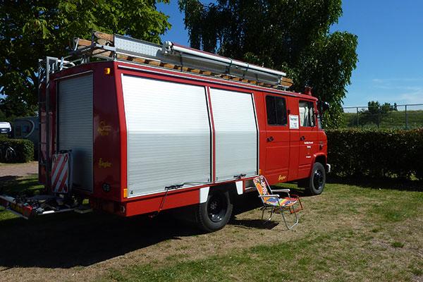 Vorne Putten | Feuerwehr Camper | Fire Engine Camper | Mercedes Benz 608D
