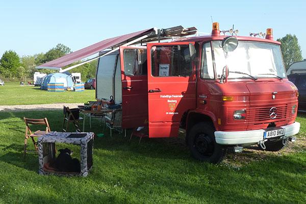 Dobbs Weir | Feuerwehr Camper | Fire Engine Camper | Mercedes Benz 608D