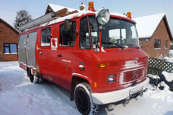 MOT Test | Feuerwehr Camper | Fire Engine Camper | Mercedes Benz 608D