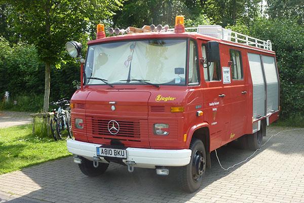 Ypres Camping | Feuerwehr Camper | Fire Engine Camper | Mercedes Benz 608D