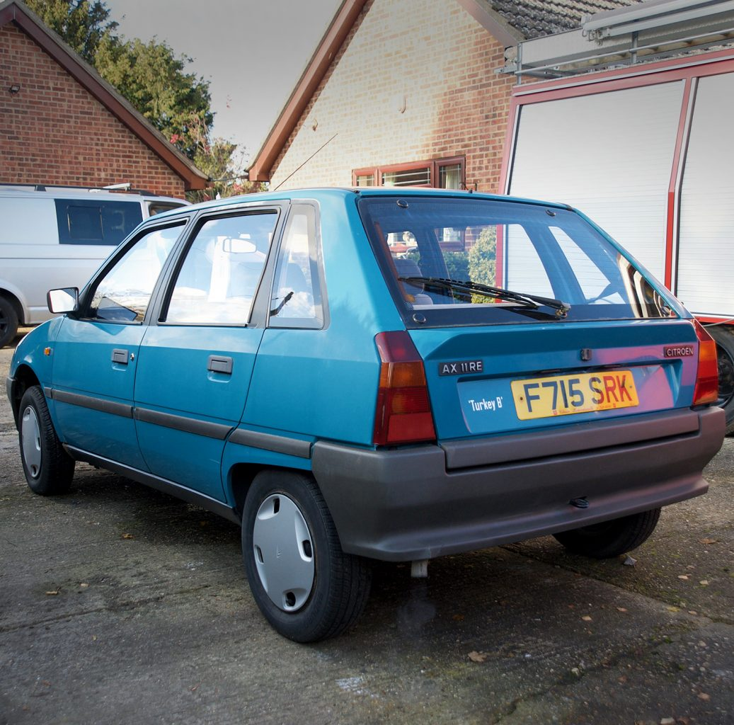 Citroen AX | Phase One | Citröen AX | AX11 RE | Cambridge | Suffolk